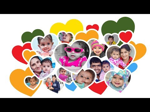 New Beautiful Heart Shape Bunch Collage Create or Free Template Download #Ai-51