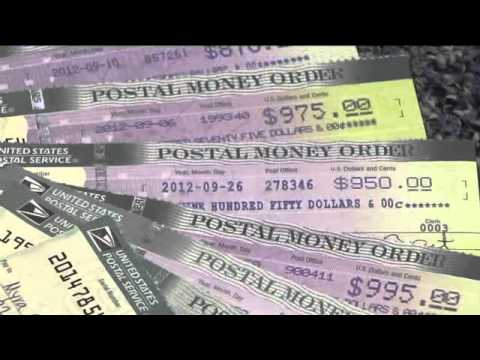 Counterfeit money orders
