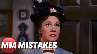 Mary Poppins (1964) Biggest Movie Mistakes, Goofs, Fails & Everything Wrong You Missed