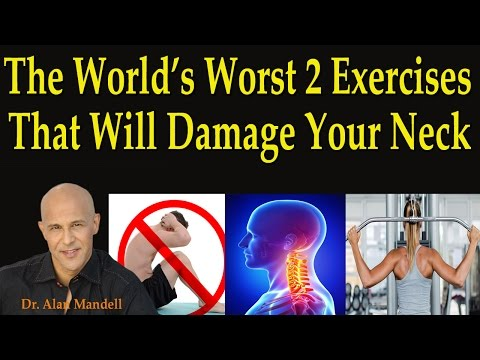 The World's Worst 2 Exercises That Will Damage Your Neck - Dr Mandell