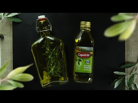 Garlic Rosemary Infused Olive Oil
