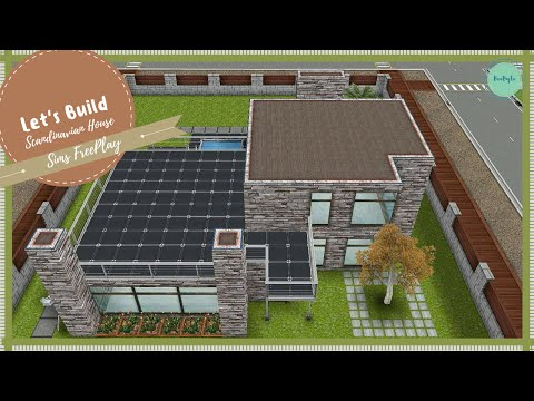 Let's Build Scandinavian House | Sims FreePlay