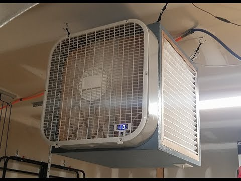DIY Arduino-Controlled Shop Air Cleaner Part 1