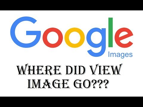 Google View Image Button Gone??? Where Did View Image Search By Buttons Go Fix - Bing, Yahoo, DuckGo