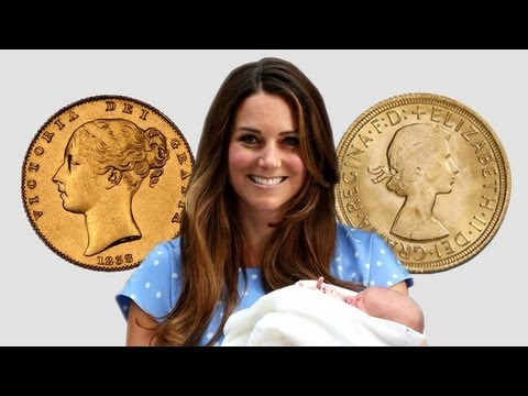 Royal Baby Genealogy of British Monarchs Junk Silver Style