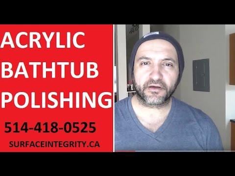 Acrylic Bathtub repair in Montreal