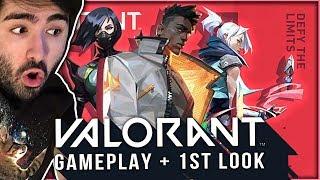 VALORANT Gameplay! Riot's New FPS Game! 🤩 | Voyboy