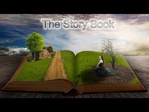 Story book photoshop manipulation hindi video.