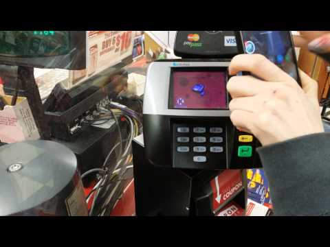 Using NFC with Google Wallet.