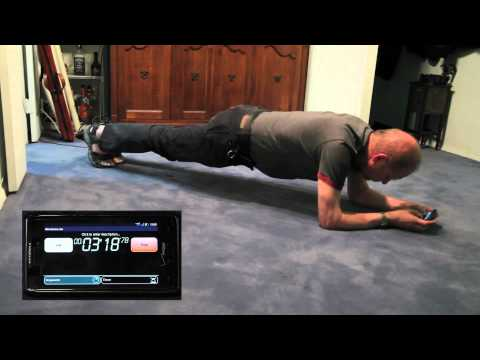 plank 10 minutes