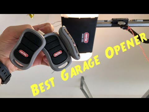 🏠Best Garage Door Opener Belt Drive vs Chain Drive System with Remotes, Keypad & Wall Button Review