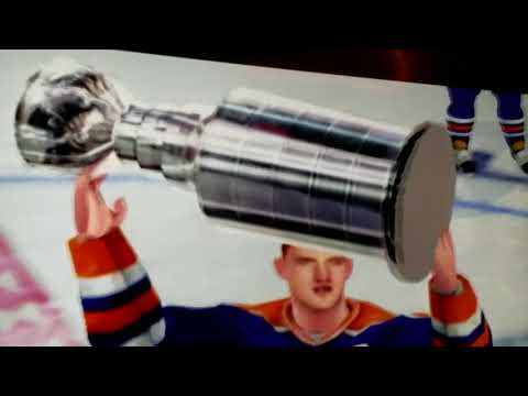 Edmonton Oilers Stanley Cup Celebration NHL 2004