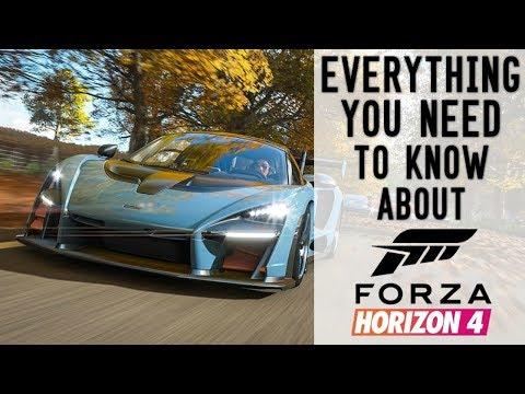 Forza Horizon 4 - EVERYTHING YOU NEED TO KNOW ABOUT FORZA HORIZON 4!!