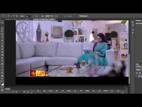 Remove video watermark using Photoshop ( in Tamil with ESubs )