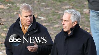 Prince Andrew issued a statement about Jeffrey Epstein