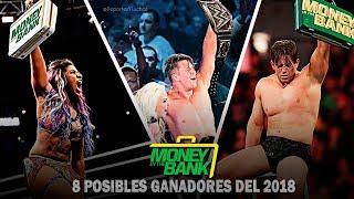 8 Posibles GANADORES de WWE  Money In The Bank 2018