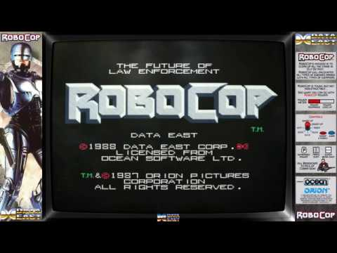 Robocop Animated Bezel for M.A.M.E