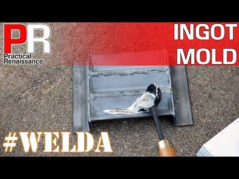 #WELDA Video 2: Make an Ingot Mold for Casting Metal
