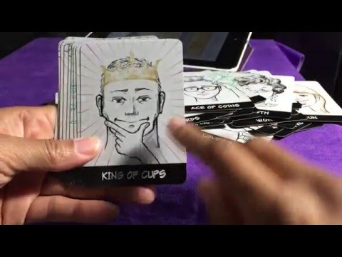 Make A Tarot or Oracle Deck with the Uface App