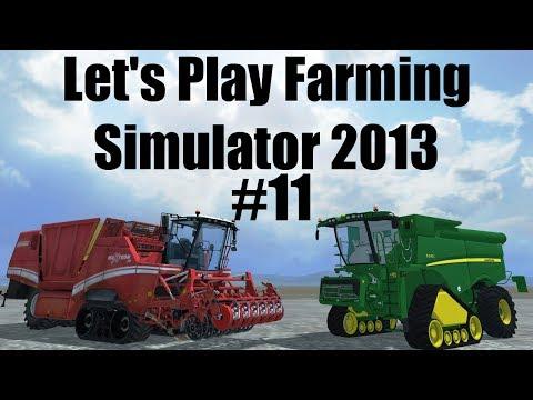 Farming Simulator 2013 S7E11 baling hay