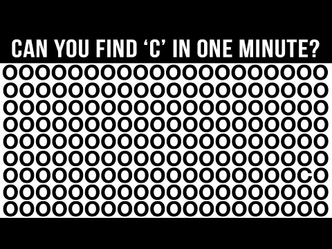 How Good Are Your Eyes? (98% FAIL THIS TEST!)