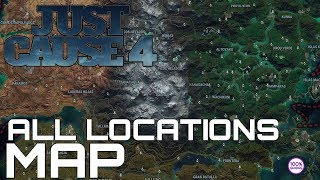 Just Cause 4 All Locations Map (download In The Description)