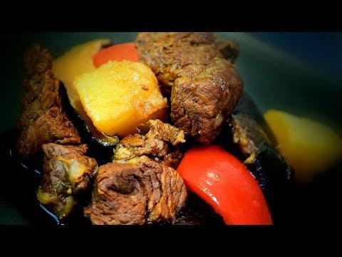 Chinese Braised Beef & Radish - Inner Mongolian Cooking Recipe