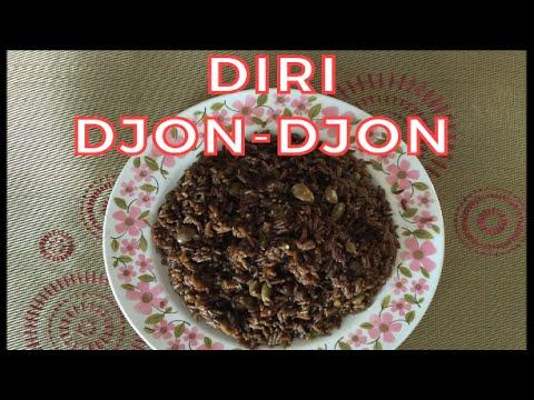Cooking With Marie: Quick and Easy Diri DjonDjon (Black Mushroom Rice)