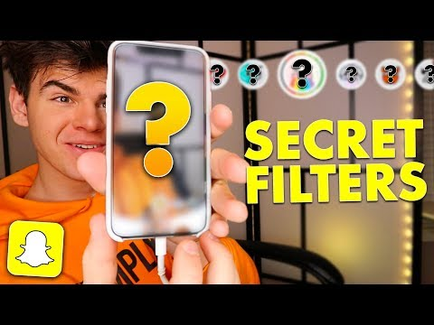 CUSTOM HIDDEN SNAPCHAT FILTERS THAT SNAPCHAT DOESN'T WANT YOU TO SEE! | David Vlas