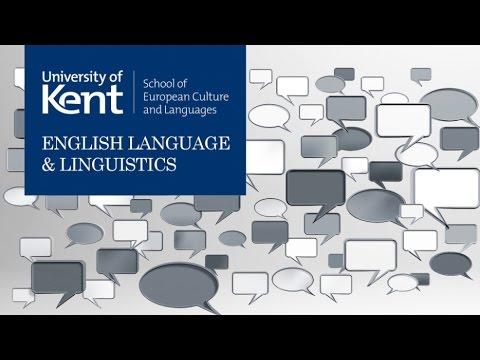 English Language & Linguistics at Kent
