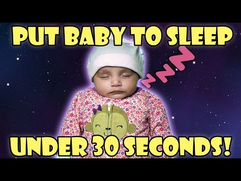 How to Put a Baby to Sleep In Under 30 Seconds