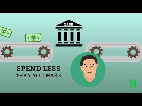 Money 101: Why you must spend less than you make