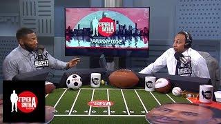 Stephen A., Ryan Clark debate Rodgers vs. Roethlisberger | The Stephen A. Smith Show | ESPN