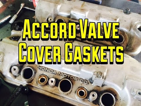 Honda Accord V6 Valve Cover Gasket J Series Replacement