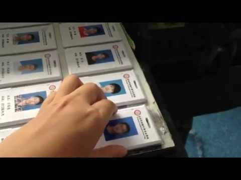 small uv printer for ID card printing