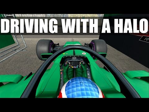What's It Like Driving An F1 Car With A Halo? (Automobilista)