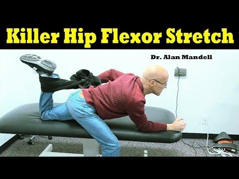 Killer Hip Flexor Stretch (Low Back & Hip Pain Relief) - Dr. Alan Mandell, DC