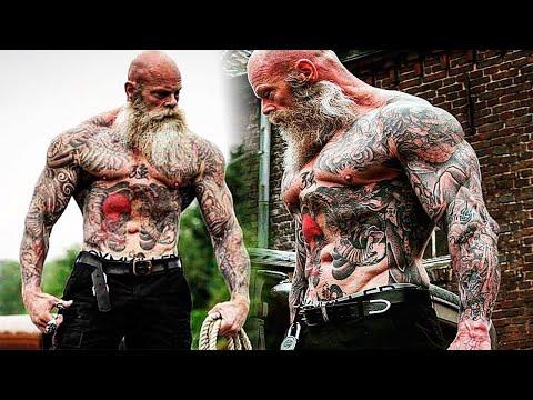 Workout Monster? Old Tattooed Bodybuilder | Motivational Video 2018