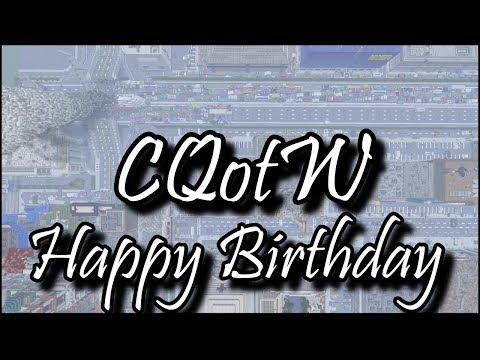Happy Birthday - Creative Question of the Week - Minecraft