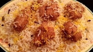 Chicken Tikka Biryani in Urdu/Hindi by Azra Salim