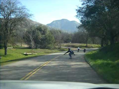 longboarding speed wobble crash