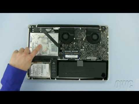 15-inch MacBook Pro Mid-2010 Optical Drive Installation Video