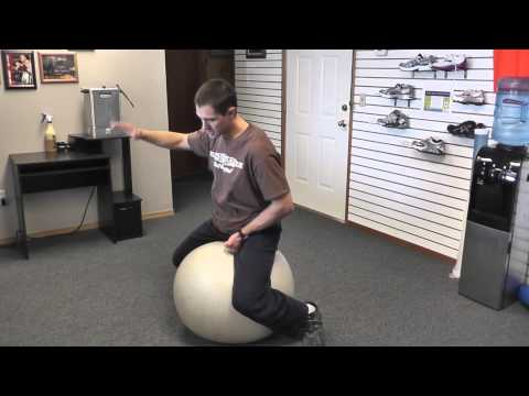 How to Bull Ride-Stability Ball Drills