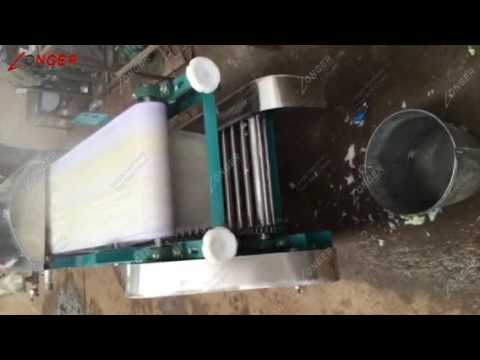 Automatic Fresh Rice Noodle Making Machine|Pho Noodle Machine
