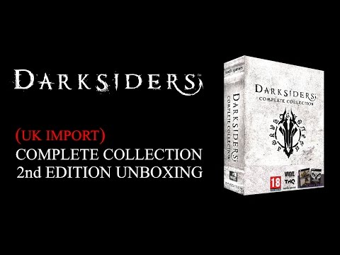 Darksiders Complete Collection 2nd Edition UK Import Unboxing & Review - HD 1080p