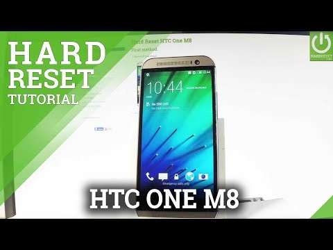 How to Reset HTC One M8 - Bypass Screen Lock / Hard Reset