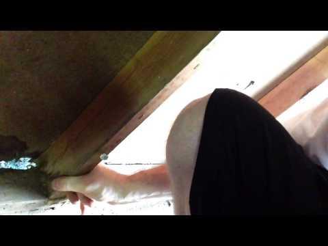Rotten Wall Sill Board Repair: Part 1