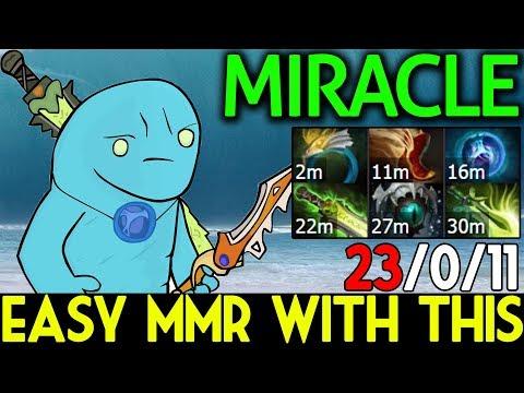 Miracle- Dota 2 7.07 [Morphling] Easy MMR with This Hero Broken! 23 Kills