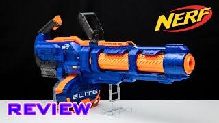 [REVIEW] Nerf Elite Titan CS-50 | NERF MINIGUN!!