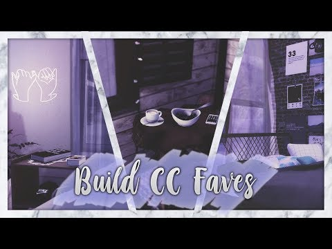 The Sims 4: Build CC Faves // Bedrooms + CC LIST